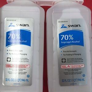 😷NWT 70%  isopropyl alcohol 2 - 1 qt bottles